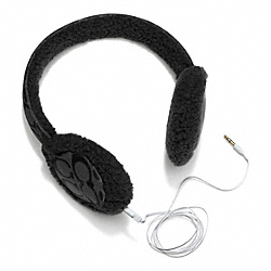 COACH BOXED EARMUFFS - ONE COLOR - F84011