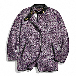 COACH F84041 - TWEED BONNIE CAPE ONE-COLOR
