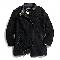 COACH WOOL BONNIE CAPE - ONE COLOR - F84050