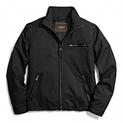 COACH NYLON SHORT ZIP JACKET - ONE COLOR - F84103