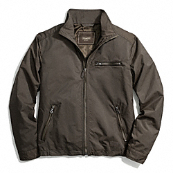 NYLON SHORT ZIP JACKET COACH F84103