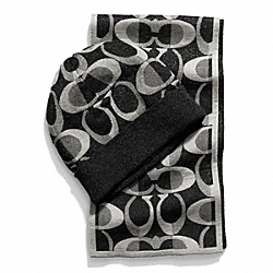 COACH BOXED SCARF AND KNIT HAT - ONE COLOR - F84109