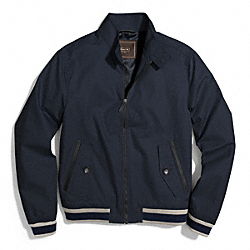 HAMPTONS WEB LEATHER BARRACUDA JACKET - f84209 - 28168