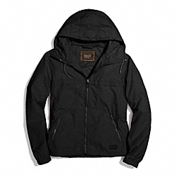COACH PACKABLE WINDBREAKER - BLACK - F84210