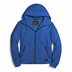 COACH PACKABLE WINDBREAKER - MARINE, MARINA - F84210