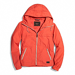 COACH PACKABLE WINDBREAKER - ORANGE - F84210
