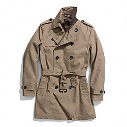 COACH TRENCH COAT - ONE COLOR - F84211