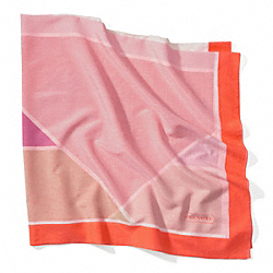COACH GEOMETRIC SQUARE SHAWL - ONE COLOR - F84236