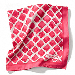COACH PAINTED DIAMONDS SCARF - ONE COLOR - F84259
