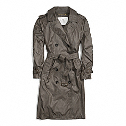 COACH FLUID TRENCH - SILT - F84305
