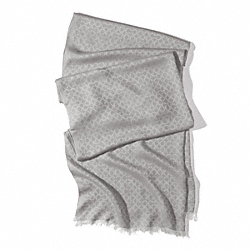 COACH MINI OP ART OBLONG SCARF - SFG - F84325