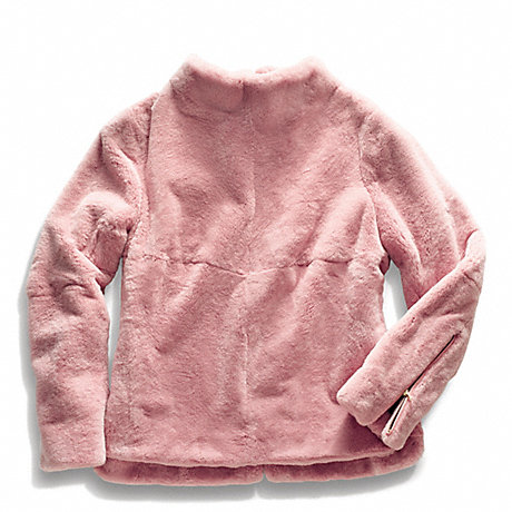 COACH REX RABBIT LONG SLEEVE TUNIC - DECO PINK - f84407