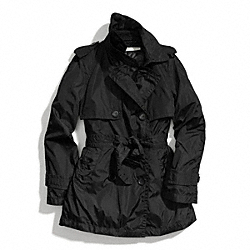 COACH PADDED TRENCH - BLACK - F84418