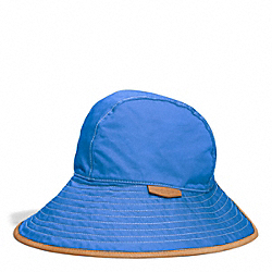 COACH HADLEY PETAL HAT - BLUE/LIGHT BLUE - F84556