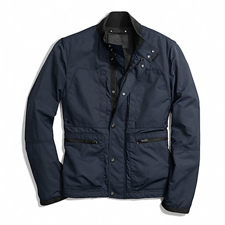 COACH VARICK FIELD JACKET -  NAVY - f84829