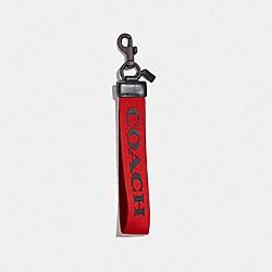 LARGE LOOP KEY FOB - SPORT RED - COACH F84833PJ6