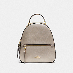 JORDYN BACKPACK IN SIGNATURE CANVAS - IM/KHAKI PLATINUM - COACH F85029