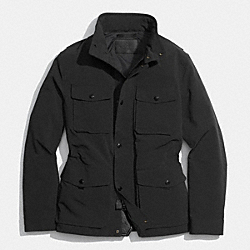 COACH WYATT FIELD JACKET - BLACK - F85103