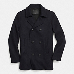 MILITARY PEACOAT - f85239 - NAVY