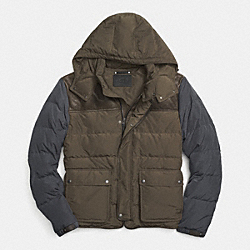 COACH SUMMIT DOWN JACKET - A9M - F85272