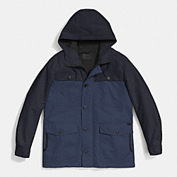 COACH SAILING JACKET - BLUE/NAVY - F85287