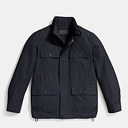 COACH LIGHTWEIGHT FIELD JACKET - NAVY - F85329