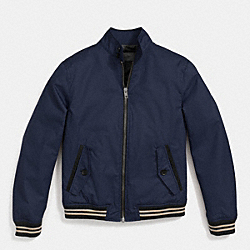 COACH BARRACUDA JACKET - NAVY - F85571