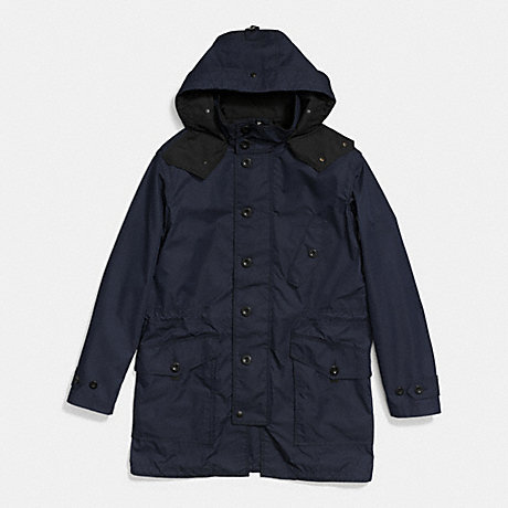 COACH THOMPSON PARKA - NAVY - f85645