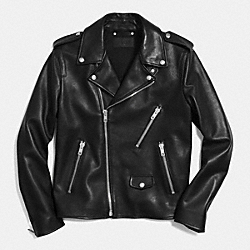 COACH MOTORCYCLE JACKET - BLACK - F85648