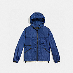 COACH STORM JACKET - DENIM - F85796