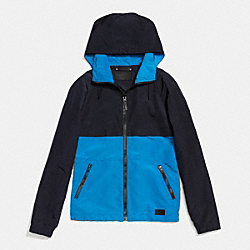 PACKABLE WINDBREAKER - AZURE - COACH F85806