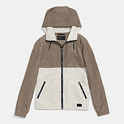 PACKABLE WINDBREAKER - FOG - COACH F85806
