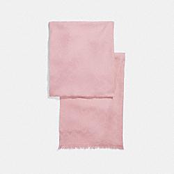 COACH SIGNATURE WRAP - Vintage Pink - F86011