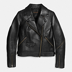 MOTO JACKET;BLACK;MEDIUM - f86044 - BLACK