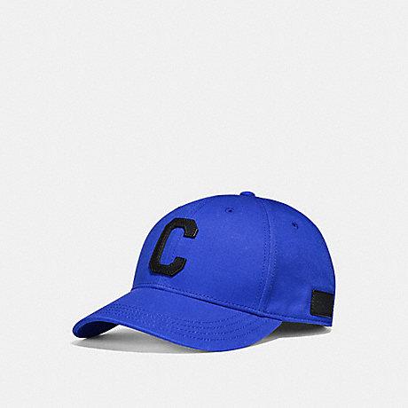 COACH VARSITY C CAP - ROYAL BLUE - f86147