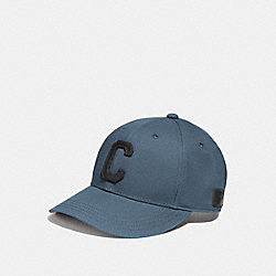 COACH VARSITY C CAP - DENIM - F86147