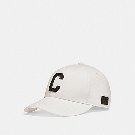 COACH VARSITY C CAP - CHALK - f86147