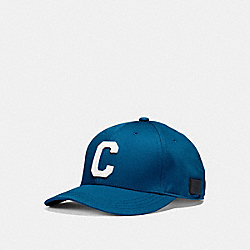 VARSITY C CAP - DENIM - COACH F86147
