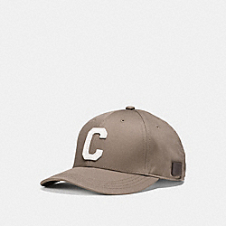 COACH VARSITY C CAP - FOG - F86147