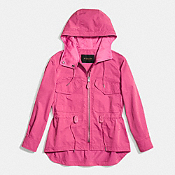 COACH SPORTY ZIP WINDBREAKER - BLOSSOM - F86465