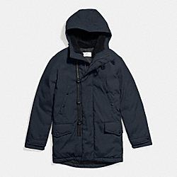 DOWN PARKA - f86513 - MIDNIGHT