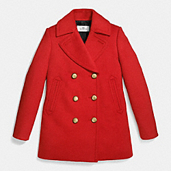 75TH ICON PEACOAT - f86525 - HOLLY