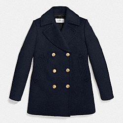 75TH ICON PEACOAT - f86525 - TWILIGHT