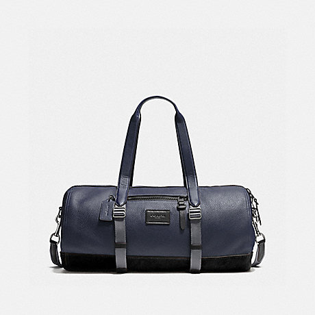 COACH HOLDALL - MIDNIGHT NAVY/BLACK/BLACK ANTIQUE NICKEL - F86737