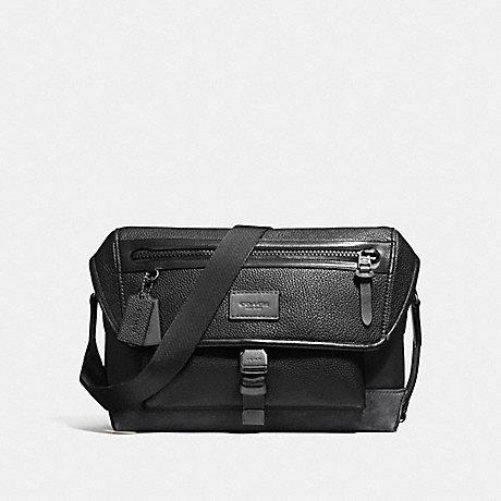 COACH MANHATTAN BIKE BAG - BLACK/GRAPHITE/BLACK ANTIQUE NICKEL - F86739