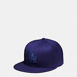 COACH MLB FLAT BRIM HAT - LA DODGERS - F87250