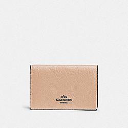 BUSINESS CARD CASE - DK/BEECHWOOD - COACH F87254