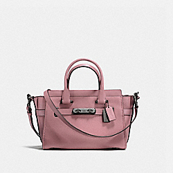 COACH SWAGGER 27 - DUSTY ROSE/DARK GUNMETAL - COACH F87295