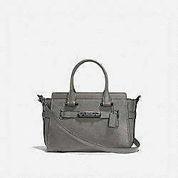 COACH SWAGGER 27 - HEATHER GREY/DARK GUNMETAL - COACH F87295