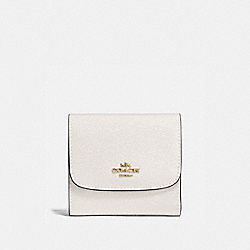 SMALL WALLET - CHALK/IMITATION GOLD - COACH F87588